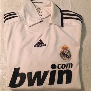 2008/2009 Adidas Real Madrid Jersey size L